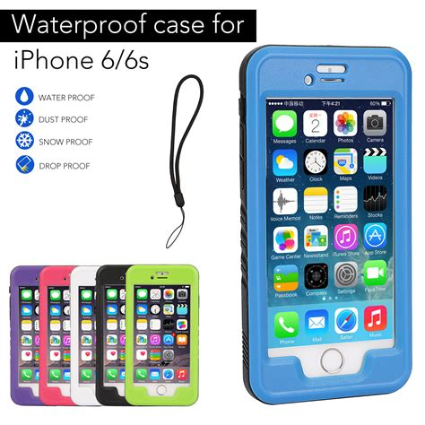 heavy duty water shock dirt snow proof cover for apple iphone 6 6s ebay