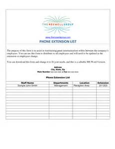 telephone extension template best photos of phone extension template phone extension