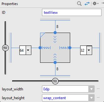 set layout height textview android designing an xml layout for portrait view