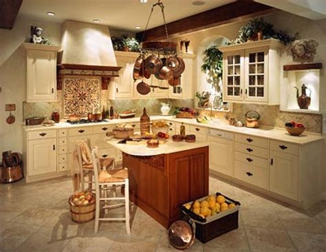 Idea For Kitchen Decorations | creative country kitchen decorating ideas for your home