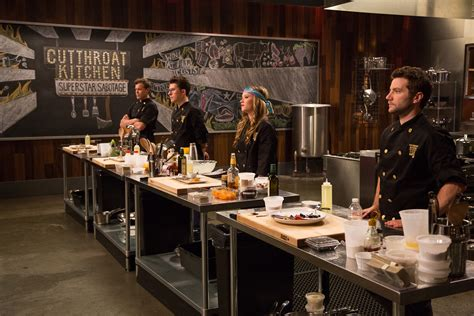 kitchen show cutthroat kitchen superstar sabotage tournament