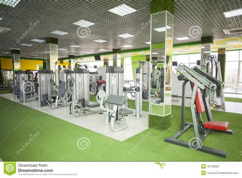 exercise equipment in bedroom gym equipment room stock photo image 45735922