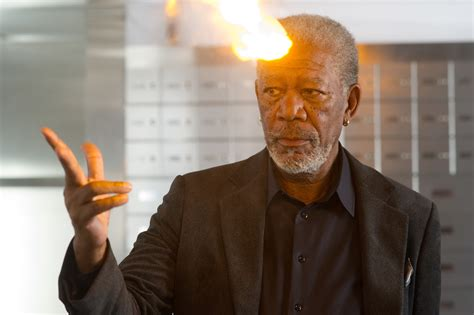 freeman in now you see me louis leterrier now you see me on set collider