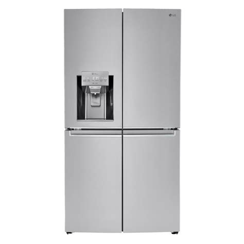 cut out dimensions for 23 cu ft counter depth french door lg electronics 23 0 cu ft french door smart refrigerator