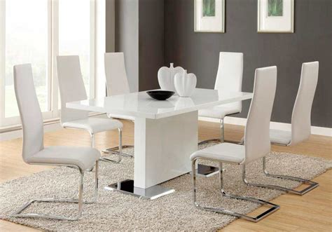 modern dining table white modern dining table white co310 modern dining