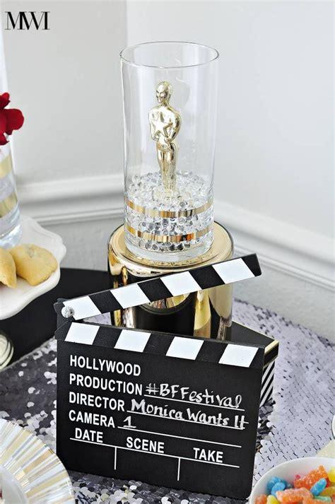 oscar  party ideas recipes hollywood birthday