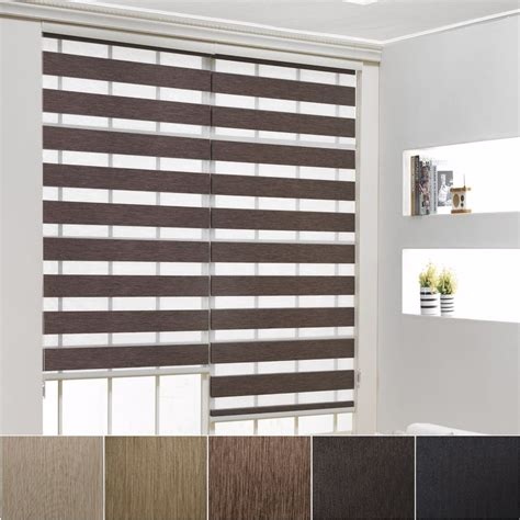 Made To Order Window Shades 70 Black Out Roller Zebra Shade Home Window Blinds Custom