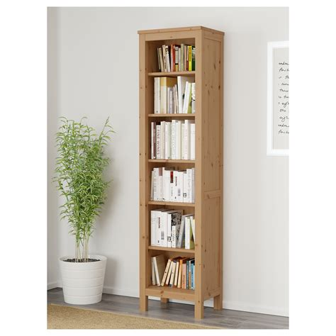 ikea hemnes white bookcase hemnes bookcase light brown 49x197 cm ikea
