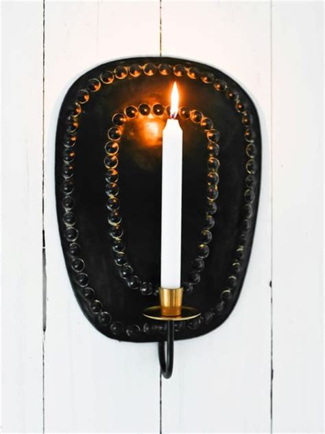 Black Wall Candle Sconces black wall candle sconce