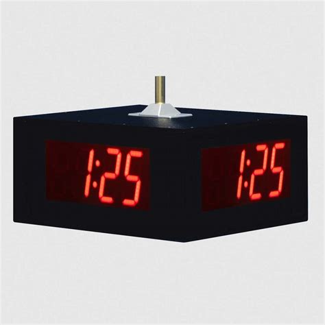 Led Digital Clock ts5446 led digital wall clock for schools and commercial applications