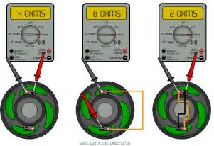 Coils can be wired to 2 ohms or 8 ohms