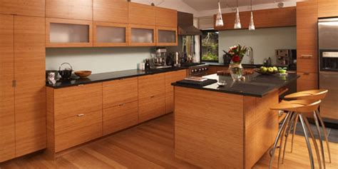 bamboo kitchen cabinets cheaper wood kitchen cabinets