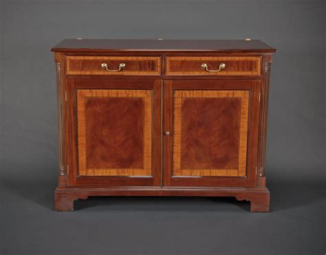 Mahogany China Cabinet by Two Door High End Mahogany China Cabinet On Sale