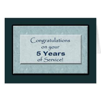 5 year anniversary card template employee anniversary cards employee anniversary card