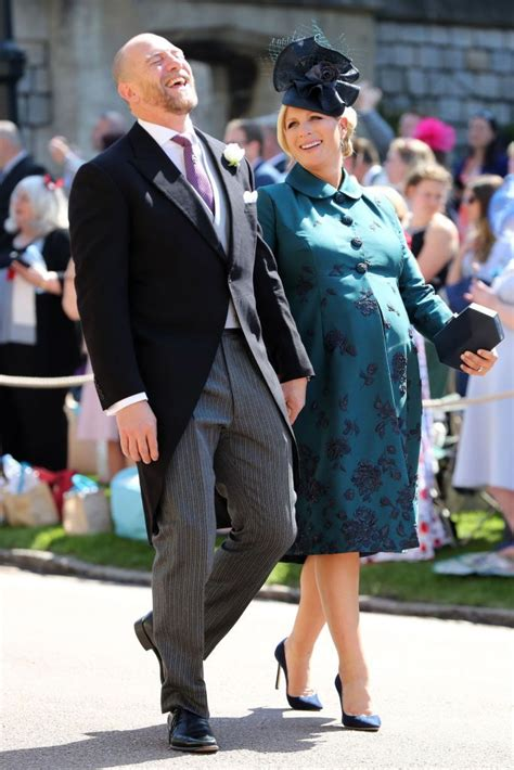 zara phillips  mike tindall  shared  sweetest