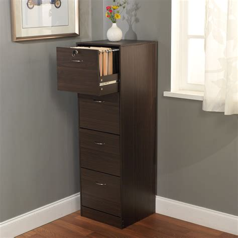 Wood Filing Cabinet Walmart by Wood File Cabinet Drawer Vertical Guoluhz 4 Drawer