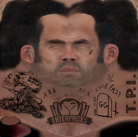 gta v tattoos trevor with hair neck tattoos new gloves gta5 mods