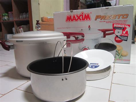 Panci Presto Maxim Tidak Berbunyi jual panci presto maxim 7liter presto pressure cooker