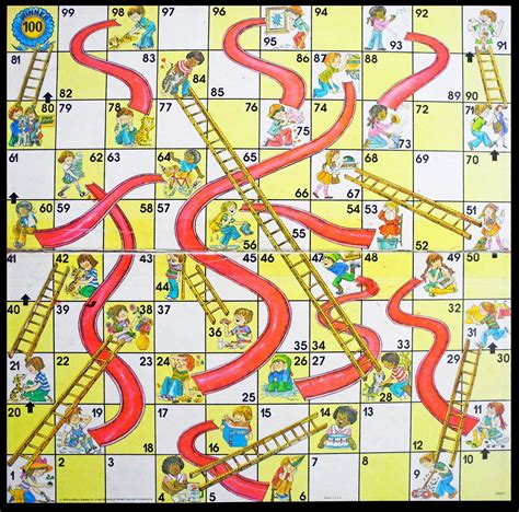 search results for snakes and ladders printable