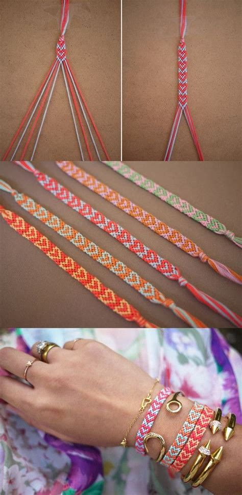 heart pattern bracelet tutorial 30 easy diy bracelet ideas and tutorials noted list
