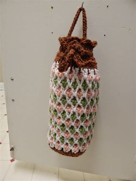 pattern crochet plastic bags crochet a holder for all those plastic bags 14 free