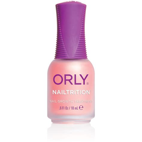 nail strengthener orly nailtrition nail strengthener 18ml