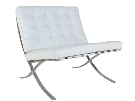 chaise barcelona chaise barcelona blanc
