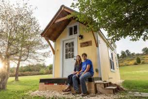 small house in live simple site matches tiny house owners with adventure