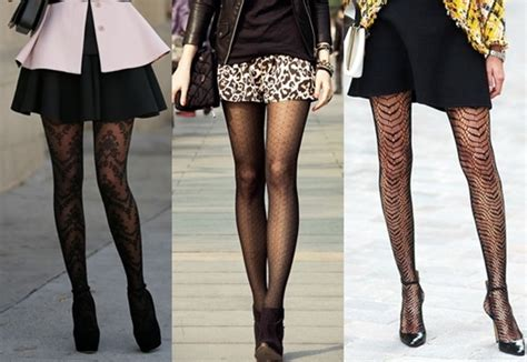 are patterned tights in style 5 creative ways to wear patterned tights