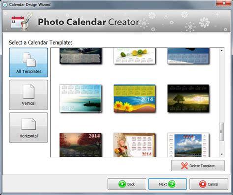 Calendar Creator Software Photo Calendar Creator Pro Graphic Design Software 35 Pc