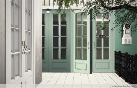 yogurt doors windows set  yumias place sims  updates