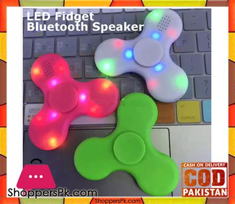 Fidget Spinner Bluetooth Led by Buy Led Fidget Bluetooth Fidget Spinner In Pakistan At