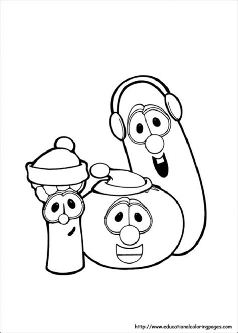 printable coloring pages veggie tales get this printable veggie tales coloring pages online mnbb6