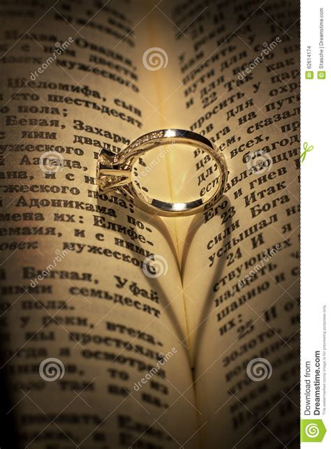 Wedding Bible Images by Wedding Ring On A Bible Royalty Free Stock Image
