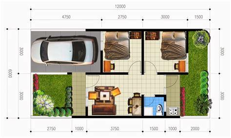 denah rumah minimalis type  terbaru  dekor rumah