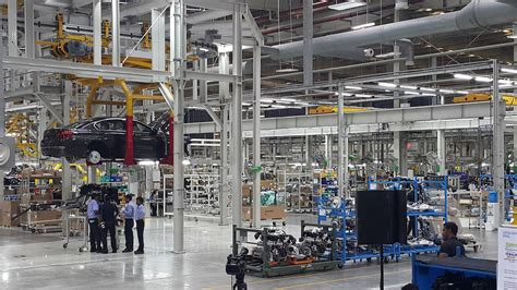 bmw factory assembly line bmw plant chennai localization update first assembly line