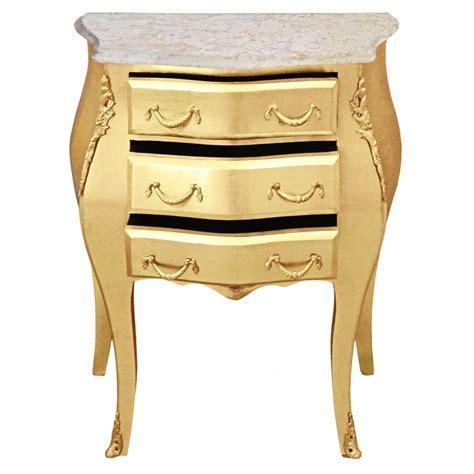 table de nuit baroque table de nuit chevet commode baroque en bois dor 233