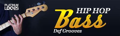 Garageband Hip Hop Bass Hip Hop Bass Guitar Loops Def Grooves