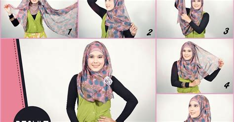 tutorial hijab yudisium tutorial simple and easy hijab pashmina shiffon cara