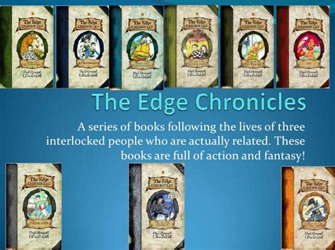 the house at the edge of a novel the edge chronicles