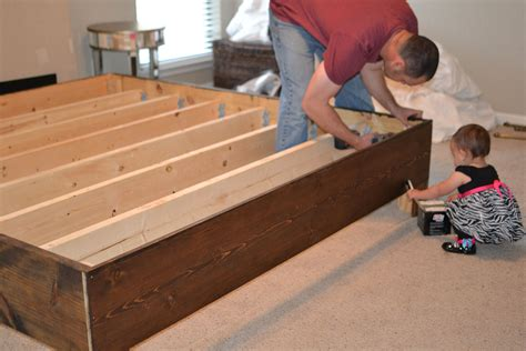 diy rustic bed frame ingfkkm beach rustic bedding