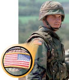 what side do sts go on why is the u s flag worn backwards on uniforms
