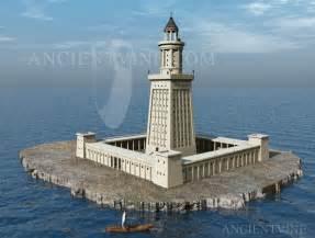 alexandria pharos lighthouse of alexandria