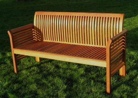 Gartenbank Holz 4 Sitzer by Moebel Partner 4 Sitzer Gartenbank Aus Eukalyptus Holz Fsc