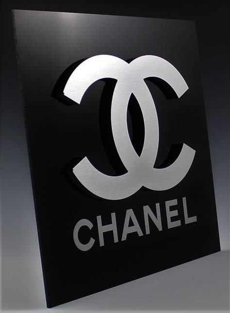 Chanel Logo L by Chanel Logo Sign
