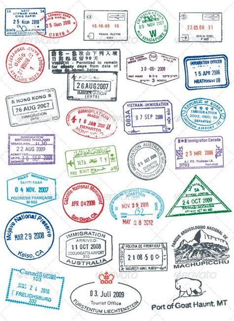 pretend passport rubber sts 25 best ideas about passport sts on