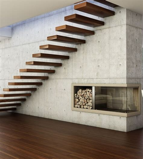 Floating Stairs Design 25 Best Ideas About Floating Stairs On