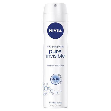 Nivea Invisible Deodorant buy nivea for deodorant aerosol invisible 250ml
