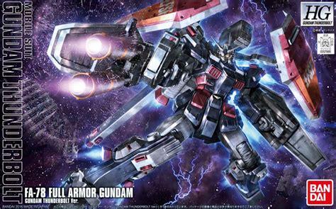 Gundam Hg Tb Fa 78 Armor Tunderbold 07885 Wb gundam 1 144 hg thunderbolt fa 78 armor gundam