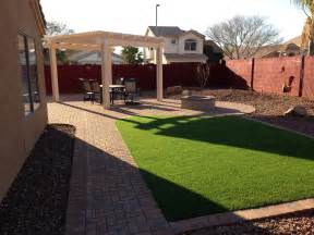 Arizona Backyard Landscaping Ideas Maintenance Free Arizona Backyard Landscape